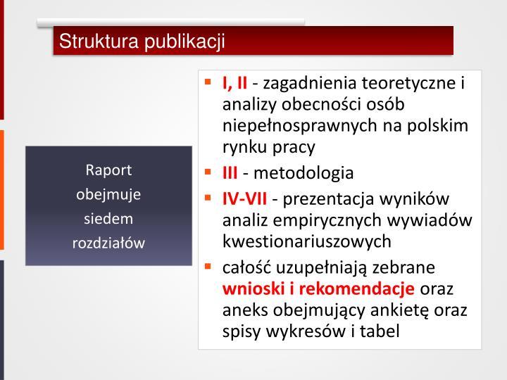 Struktura publikacji