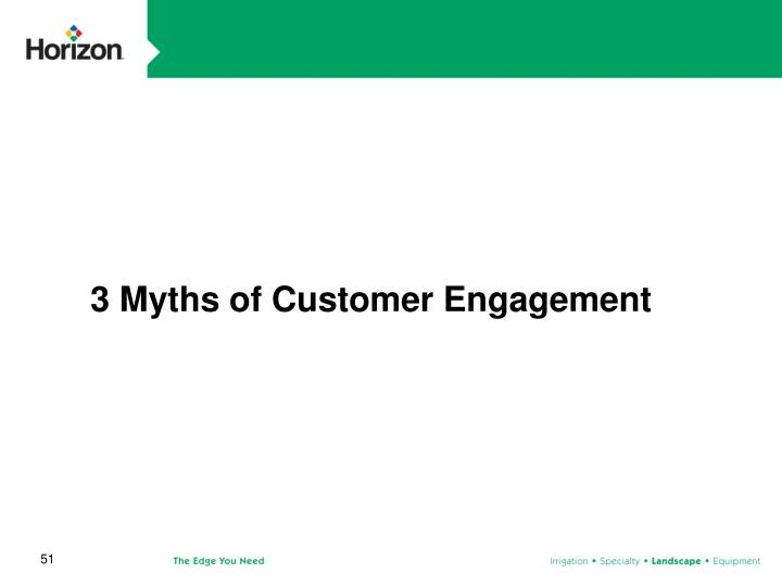 3 Myths of Customer Engagement