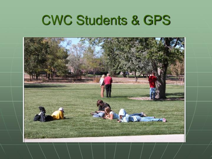 CWC Students & GPS