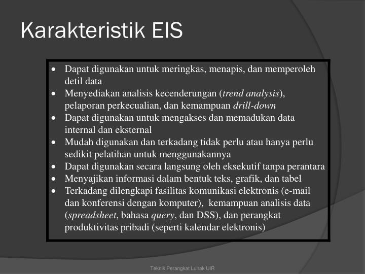 Karakteristik EIS