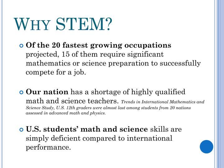 Why STEM?