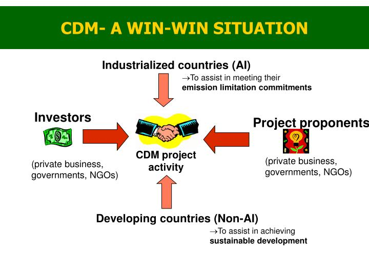 CDM- A WIN-WIN SITUATION