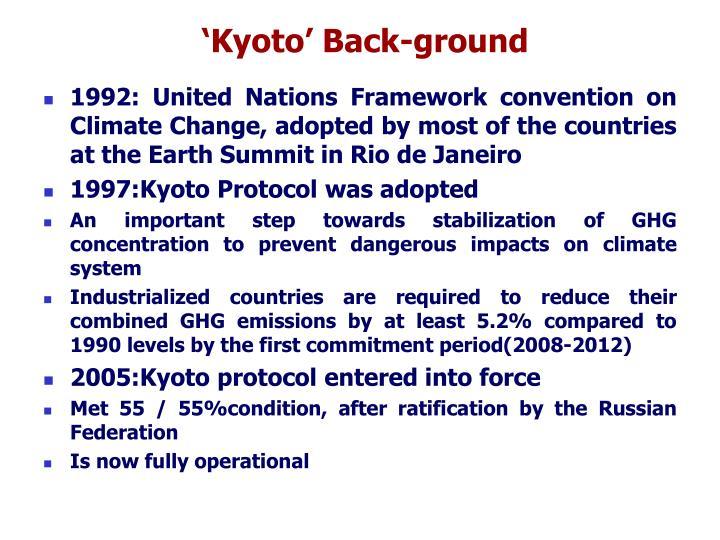 'Kyoto' Back-ground