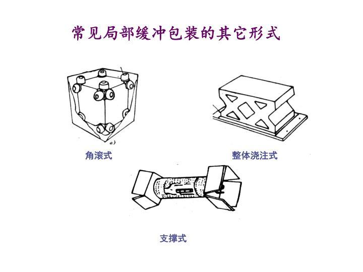 常见局部缓冲包装的其它形式