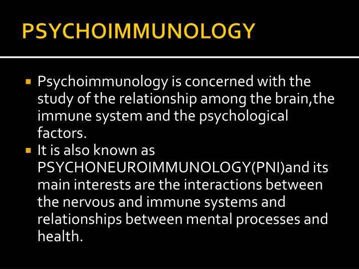 PSYCHOIMMUNOLOGY