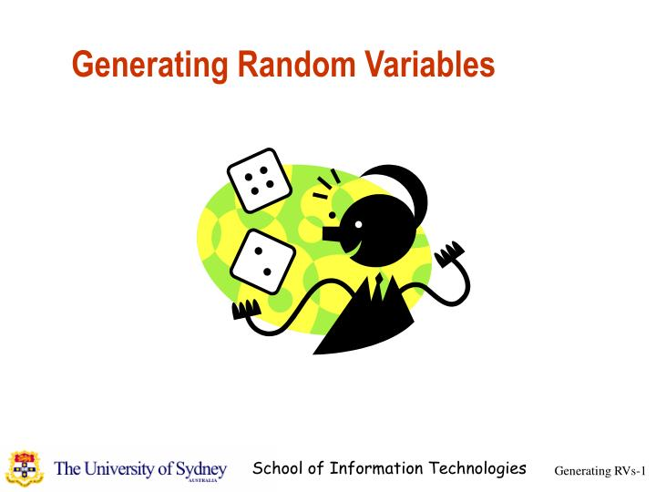 Generating random variables