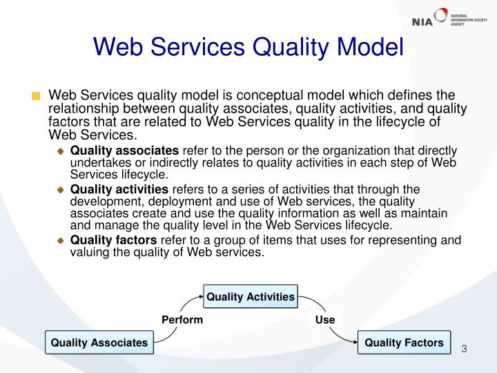 Web Services Quality Model
