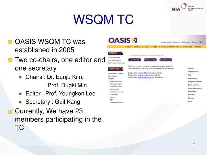 WSQM TC