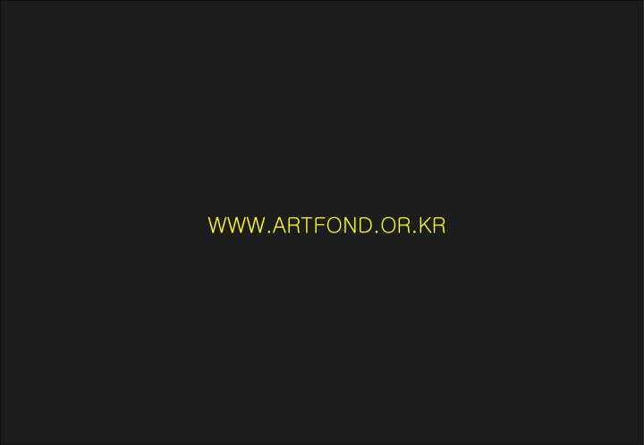 WWW.ARTFOND.OR.KR
