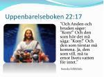 uppenbarelseboken 22 17