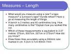 measures length