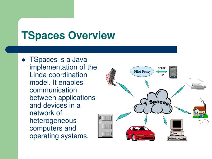 Tspaces overview