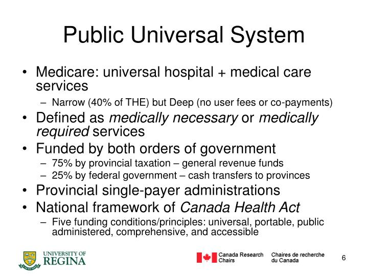 Public Universal System
