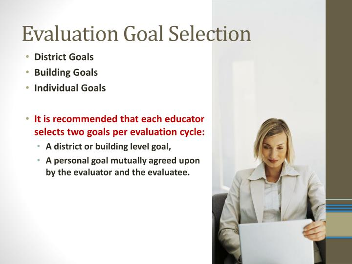 Evaluation Goal Selection
