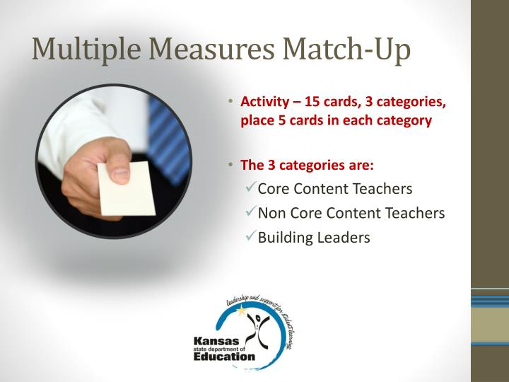 Multiple Measures Match-Up
