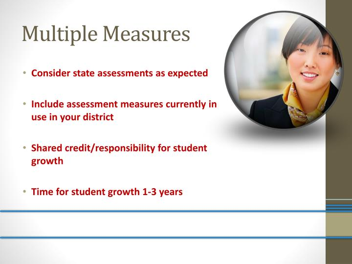 Multiple measures