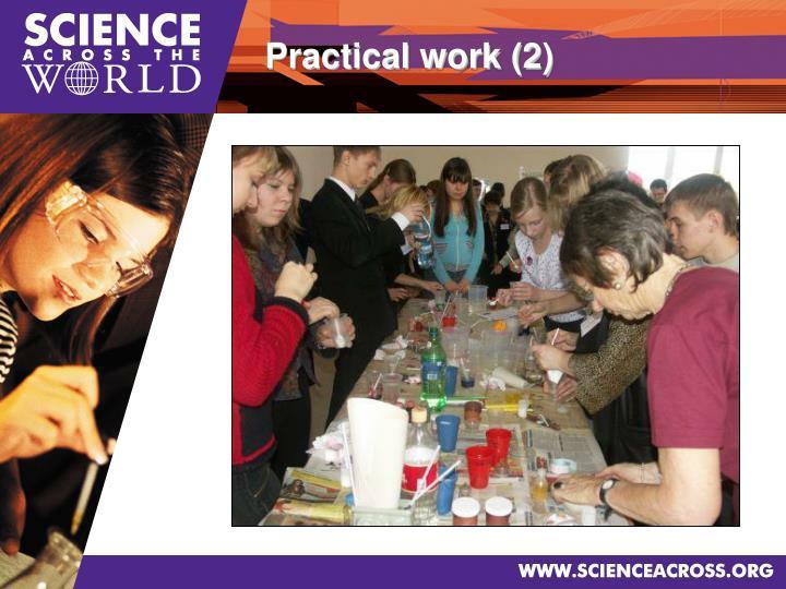 Practical work (2)