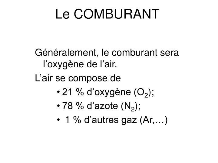 Le COMBURANT