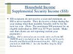 household income supplemental security income ssi1