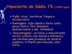 hipoclorito de s dio 1 10000 ppm