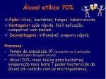 lcool et lico 70