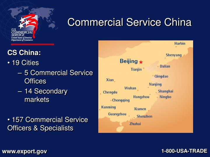 Commercial service china