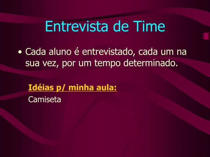Entrevista de Time