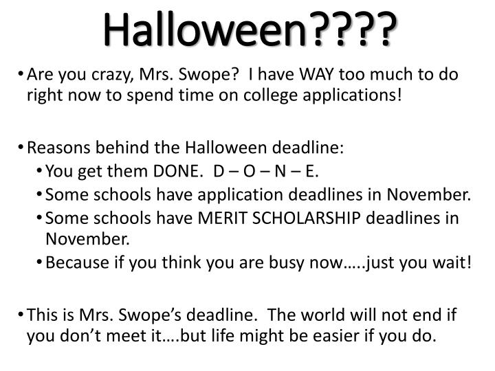 Halloween????