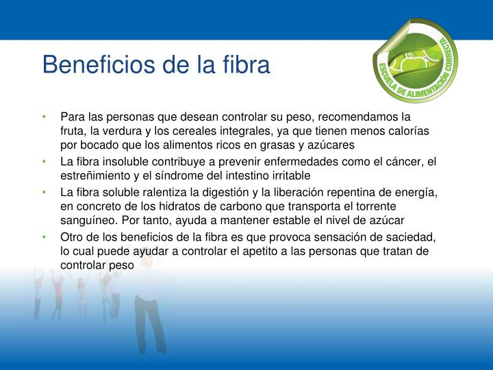 Beneficios de la fibra