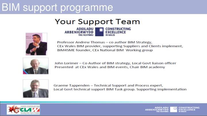 BIM support programme