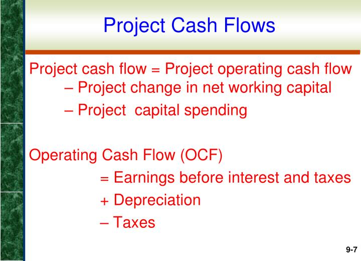Project Cash Flows