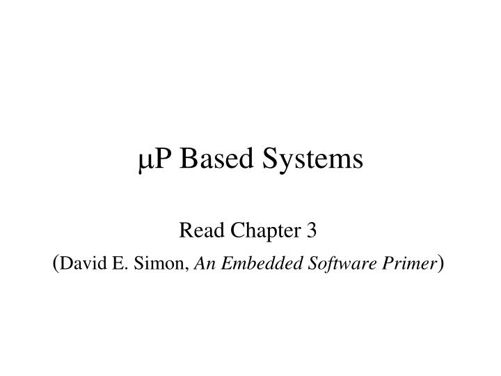 M p based systems