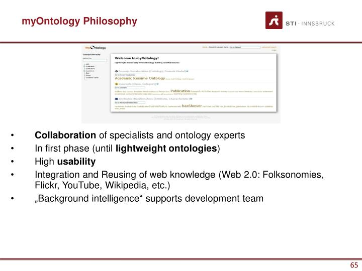 myOntology Philosophy