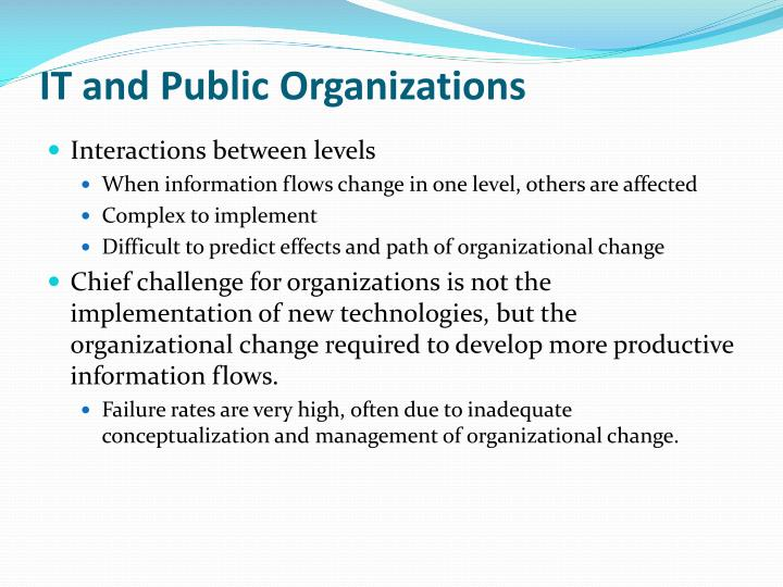 It and public organizations1