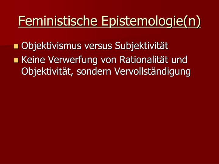 Feministische