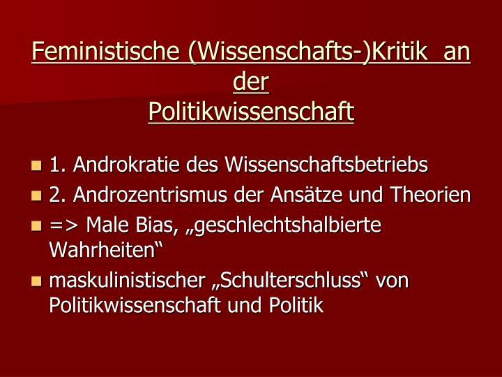 Feministische (