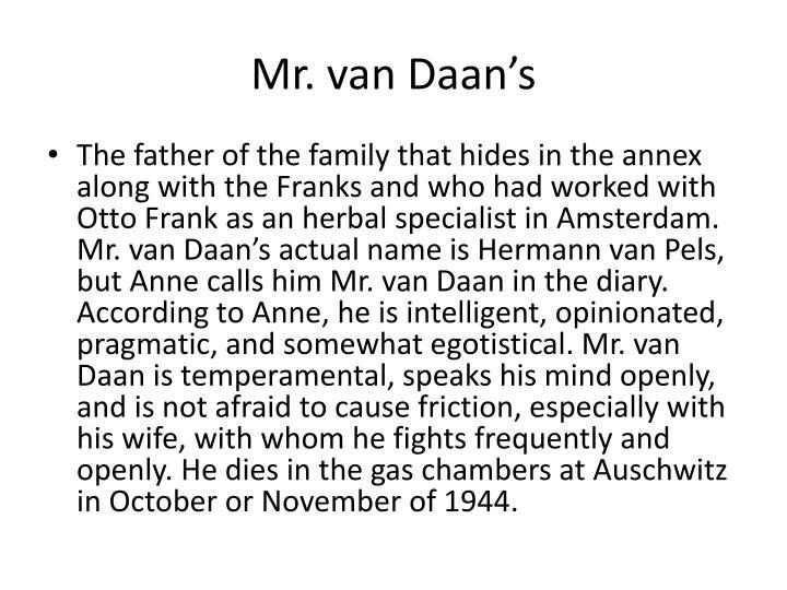 Mr. van