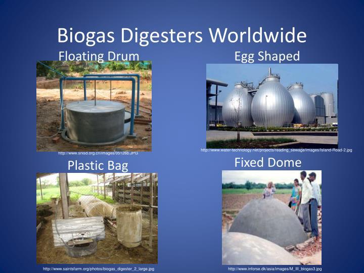 Biogas Digesters Worldwide
