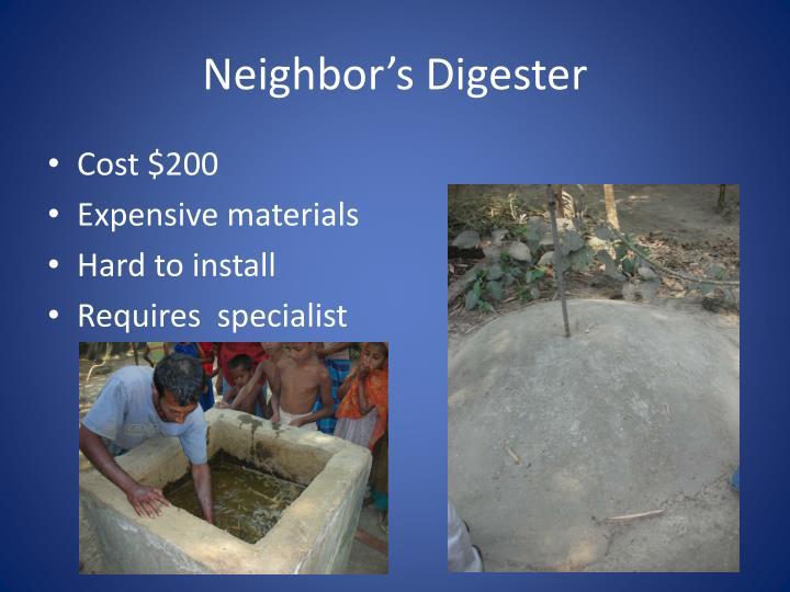 Neighbor's Digester