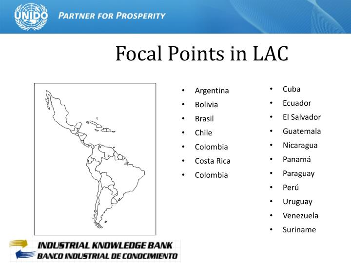 Focal Points in LAC