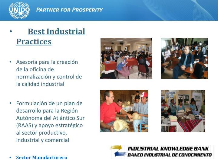 Best Industrial Practices