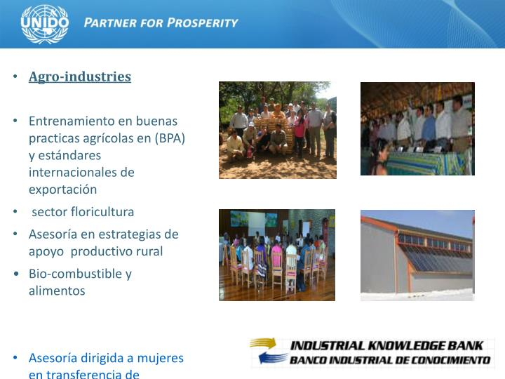 Agro-industries