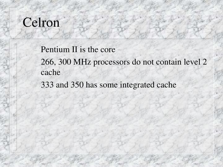 Celron