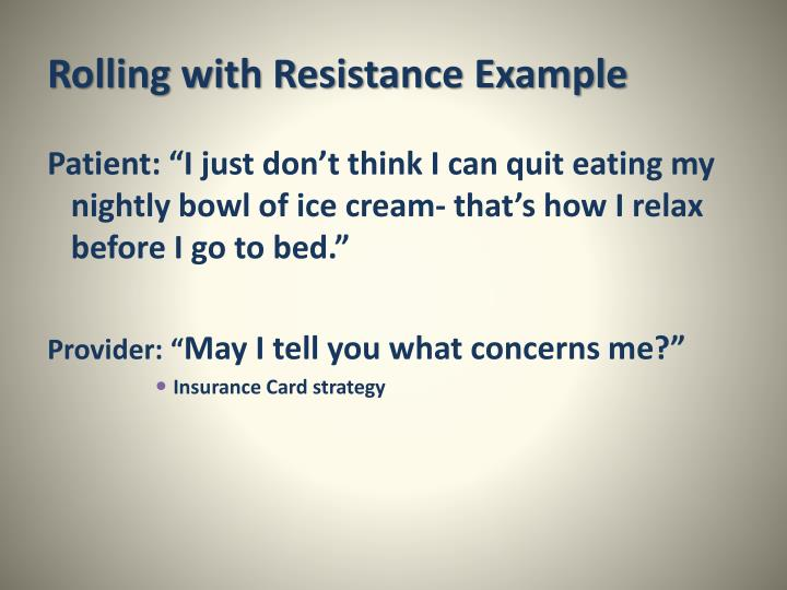 Rolling with Resistance Example