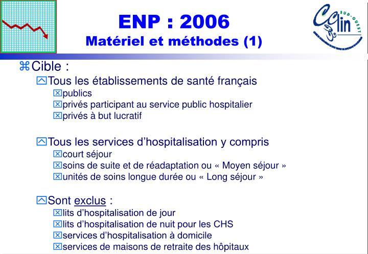 ENP : 2006