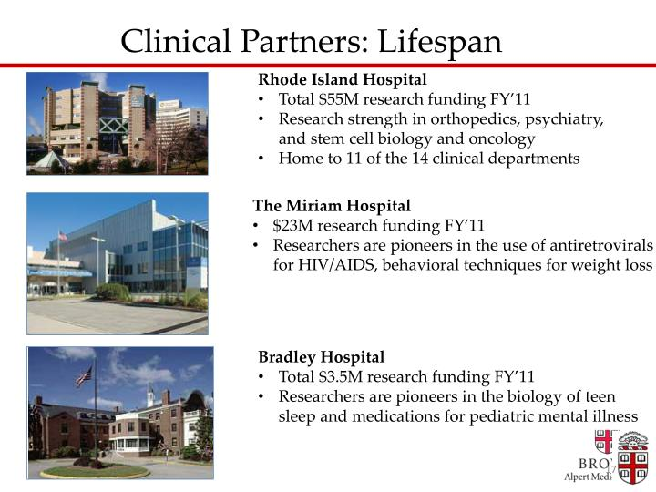 Clinical Partners: Lifespan