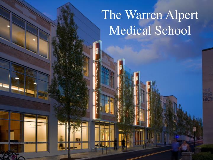 The Warren Alpert Medical School