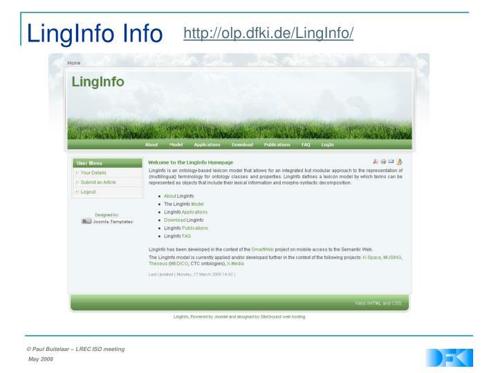 LingInfo Info