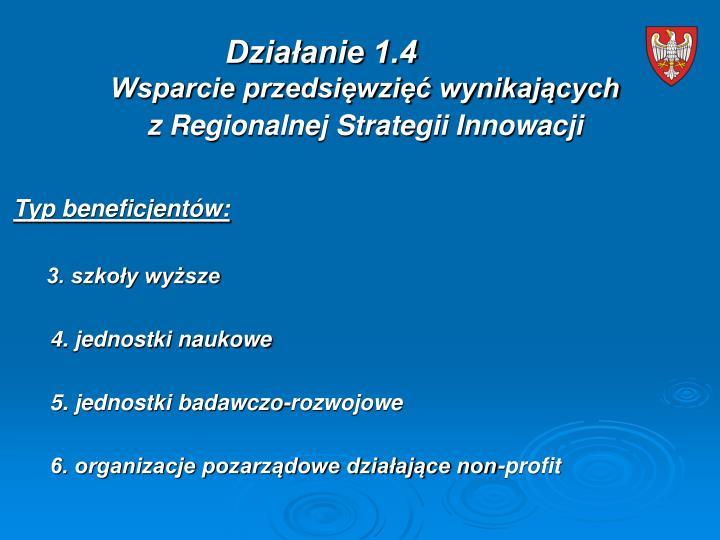 Działanie 1.4