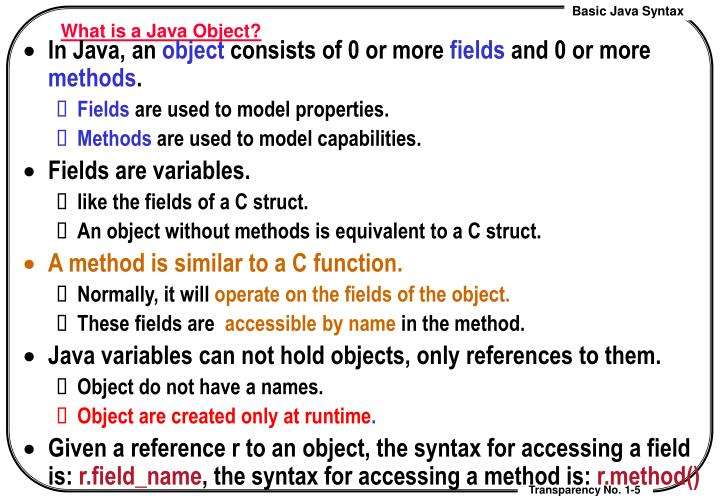 What is a Java Object?
